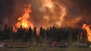 Burning Blaze in Canada
