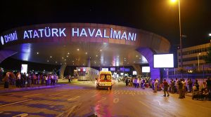 Three Suicide Bombings at Instanbul's Ataturk Airport