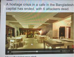 Last Night Deadly Siege in Bangladesh