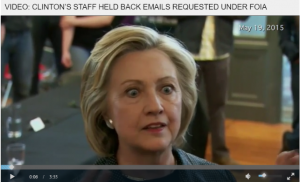 Priceless Video of Hillary Clinton Asked By News Media