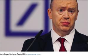 Deutsche Bank Hard Pressed for $14 Billion To The US