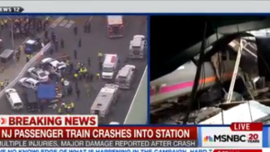 Breaking News Commuter Train Crashed at Hoboken, NJ Train Station Update