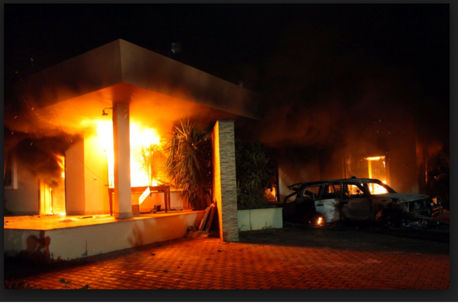 Former Secretary of State Failed Four Americans in Benghazi on September 11, 2012 414 Hits