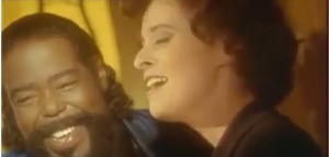 Barry White and Lisa Stansfield