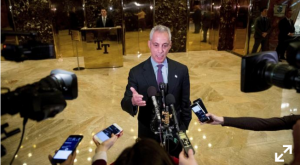 President-elect Trump meets with Mayor Emanuel ~ Updated