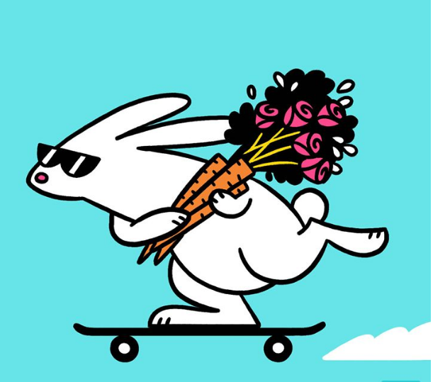 Fast Bunnies Delivery for Valentine's Day ~ 268 Hits