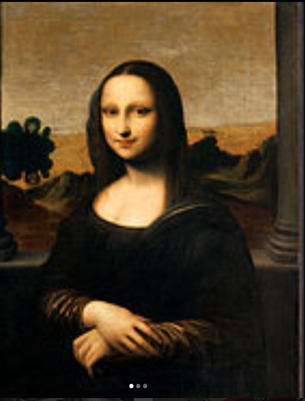 The Mona Lisa ~ WP 655 Views