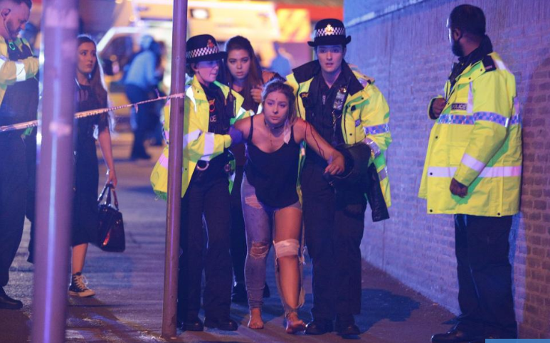 Update On Terrorist Attack in Manchester England 309 Hits