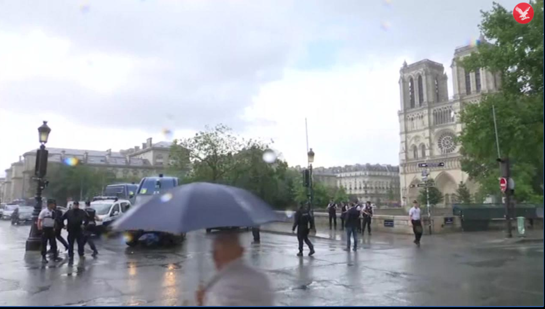 A Shooting at the Notre-Dame Cathedral in Paris France 159 Hits