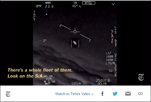 """Look At That Thing! Dude!"" Fast Moving UFO Stuns U.S. Navy Pilots"