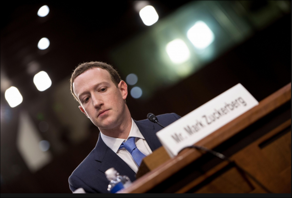 April 10, 2018 Facebook's CEO Mark Zuckerbergs Senate Judiciary Committee  Testimony 231 Hits - Nats Writings