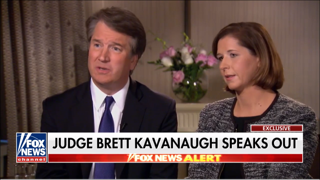 Judge Brett Kavanaugh and His Wife Ashley Talk To Fox News Martha McCallum. 118 Views
