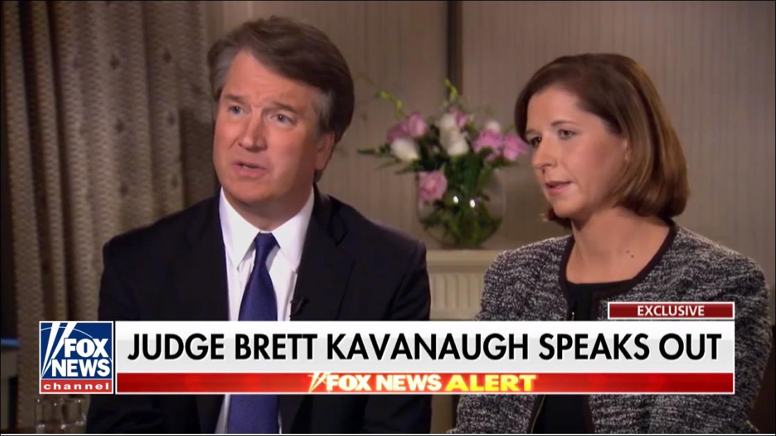 Judge Brett Kavanaugh and His Wife Ashley Talk To Fox News Martha McCallum. 118 Views