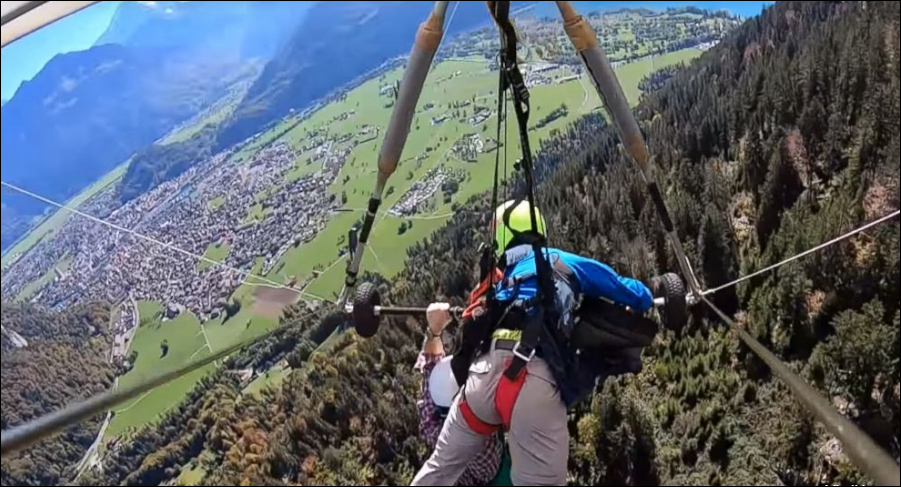 Life Stories: An American Tourist Goes Hang Gliding In Switzerland; What Could Go Wrong?