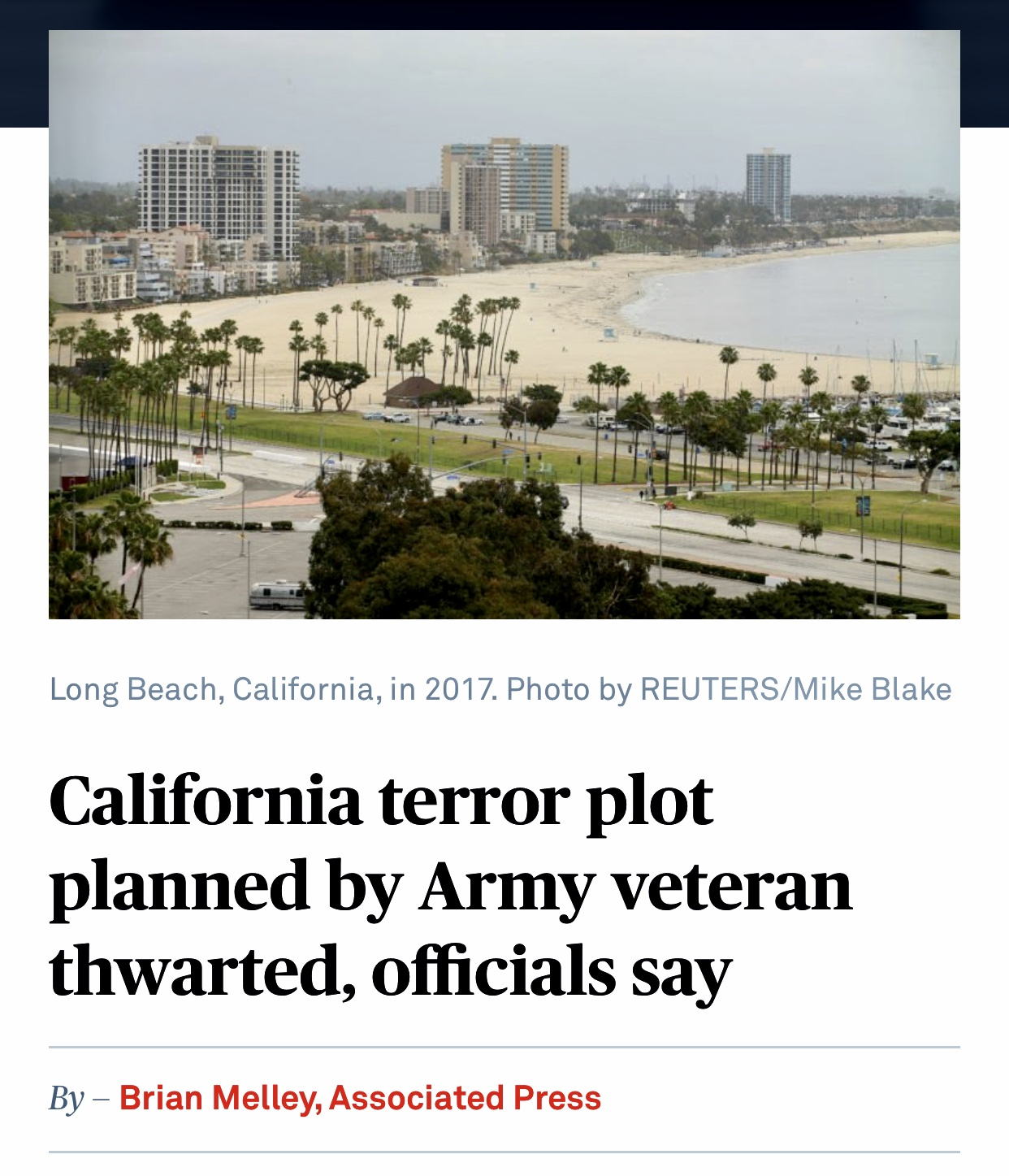 California terror plot planned by Army veteran thwarted, officials say | PBS NewsHour 650 Views
