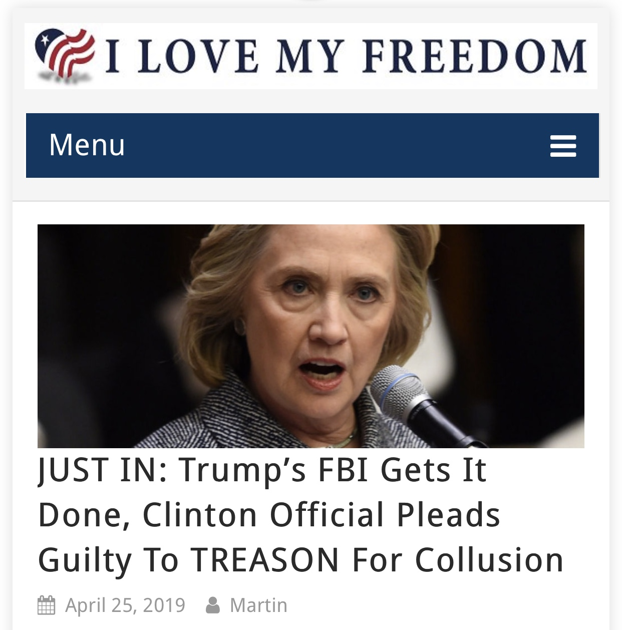 JUST IN: Trump's FBI Gets It Done, Clinton Official Pleads Guilty To TREASON For Collusion
