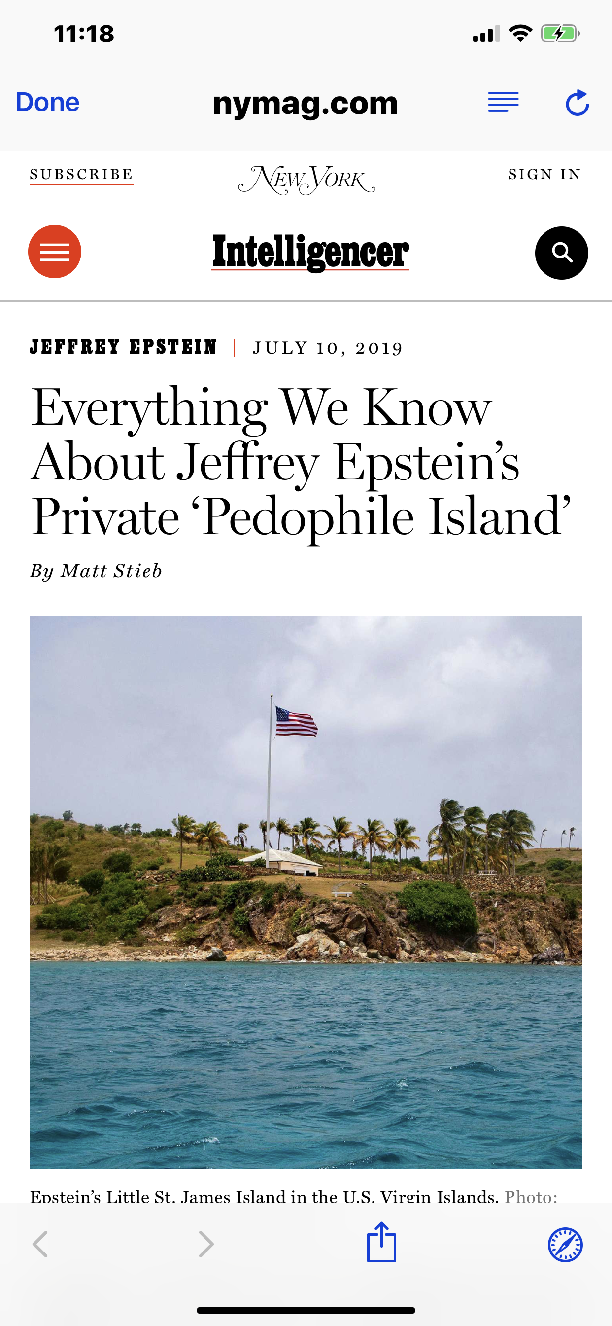 Everything We Know on Jeffrey Epstein's 'Pedophile Island'