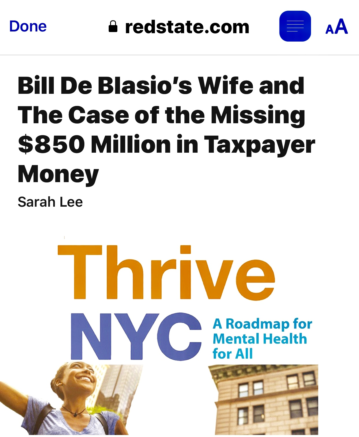 ‪De Blasio's Wife & The Missing $850 Million in Taxpayer Money‬ 973 Views