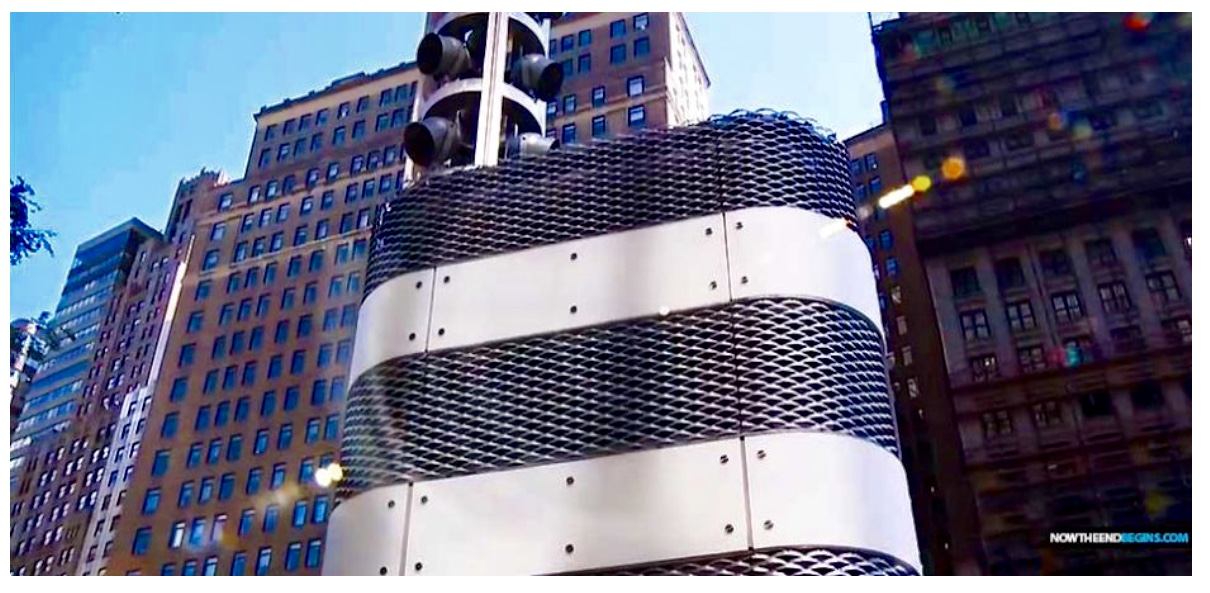 Metropolitan Transportation Authority MTA Refuses To Explain Mysterious Metal Towers Appearing At Bridges & Tunnels In New York City | WorldTruth.Tv
