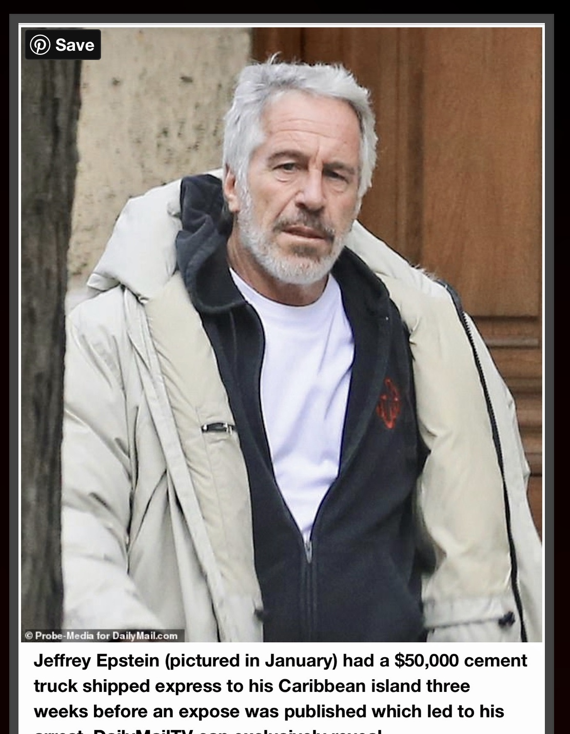 Epstein & Breaking News Articles