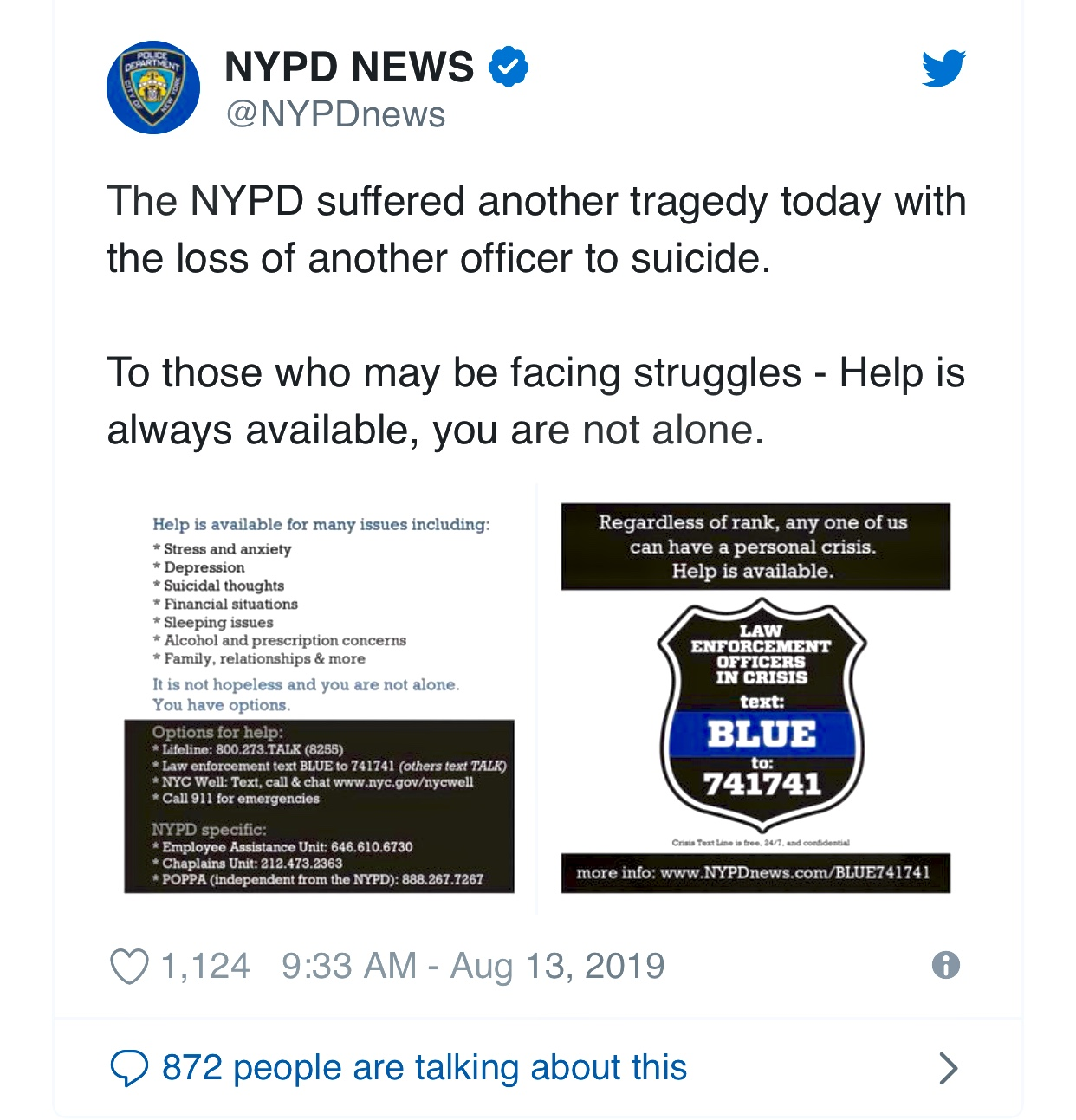 8th N.Y. Police Officer Dies by Suicide, Further Unsettling the Force – The New York Times