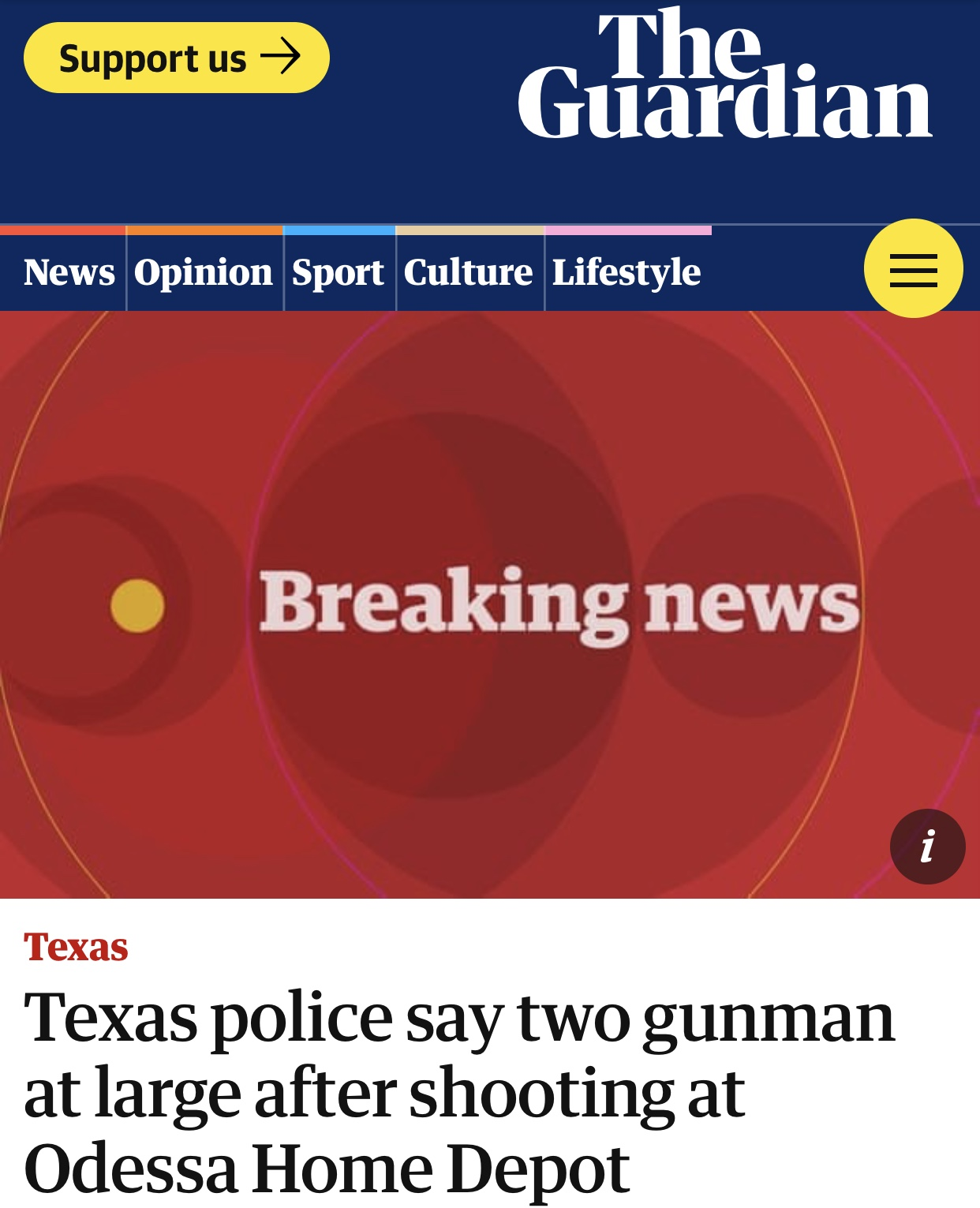 Active shooter in Odessa and Midland, Texas; at least 30 shot – BNO News