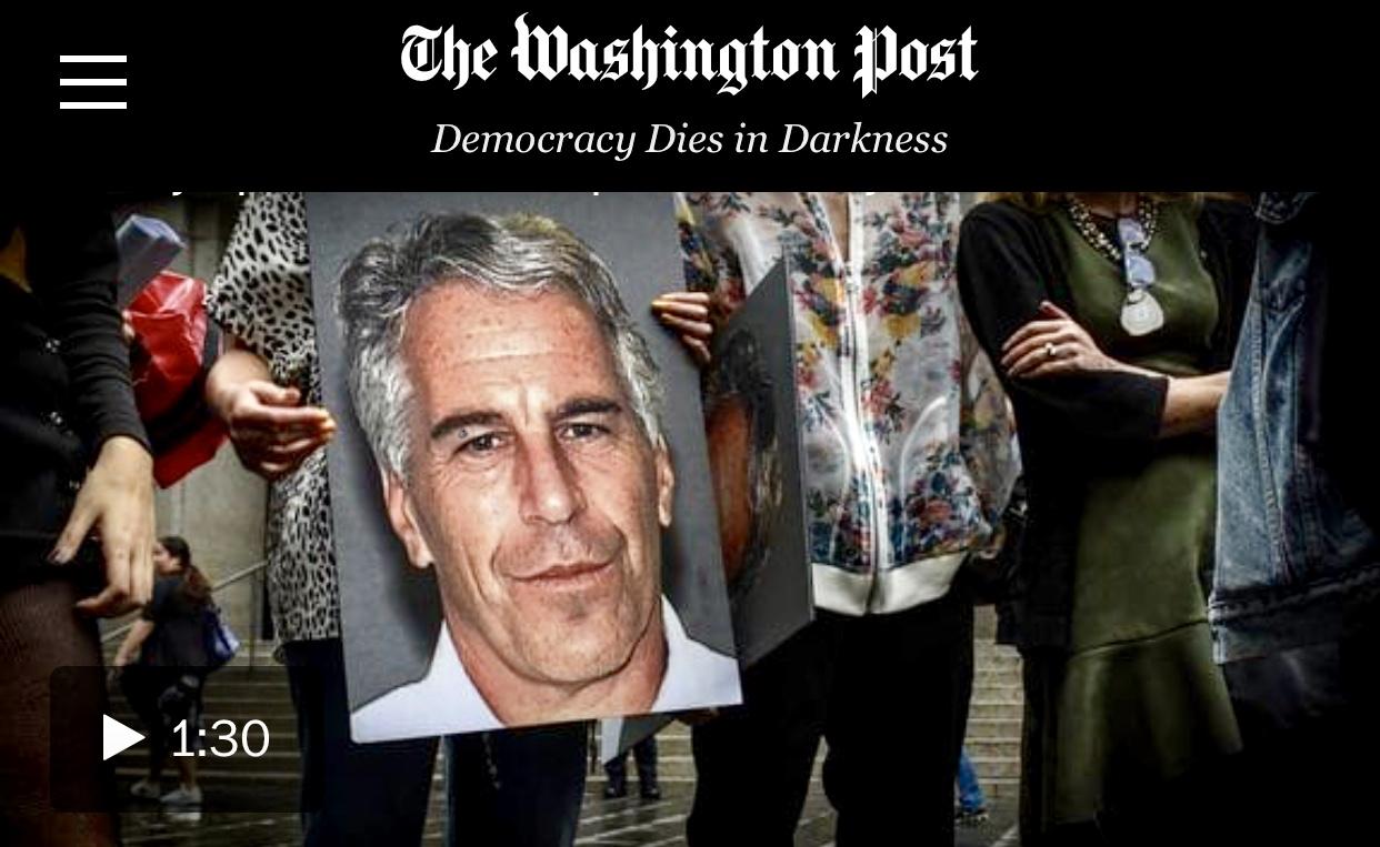 Epstein's Autopsy Reveals Broken Neck Bones Deepens Questions