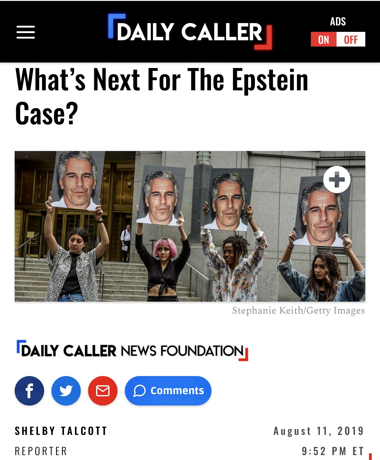 What's Next For The Epstein Case? | The Daily Caller