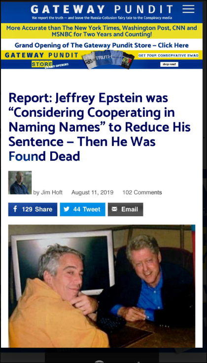 "Jeffrey Epstein ""was"" Considering Cooperating in Naming Names"" to Reduce His Sentence Then He Was Found Dead"