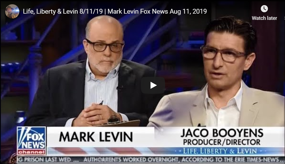 Life, Liberty & Levin Speaks with Jaco Booyens on Child Trafficking and Pedophile Rings