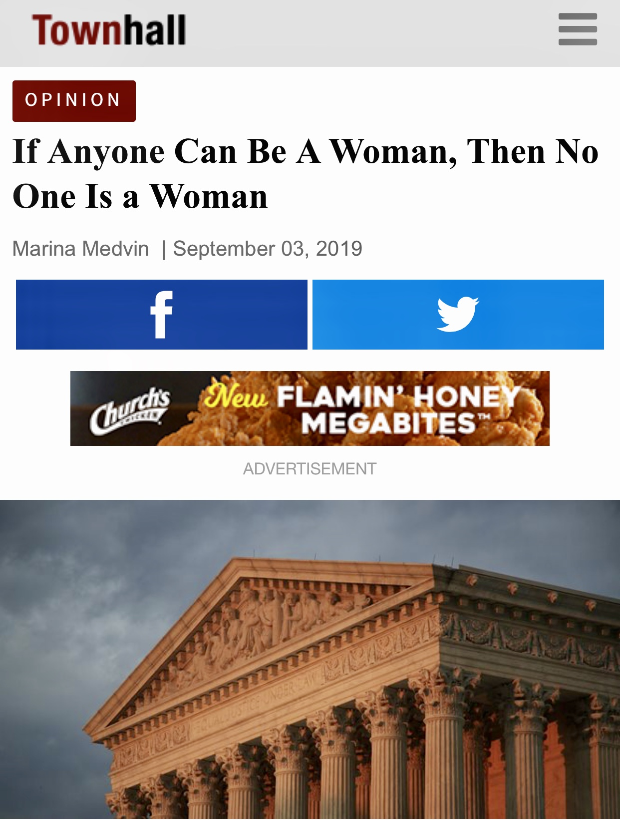 If Anyone Can Be A Woman, Then No One Is a Woman