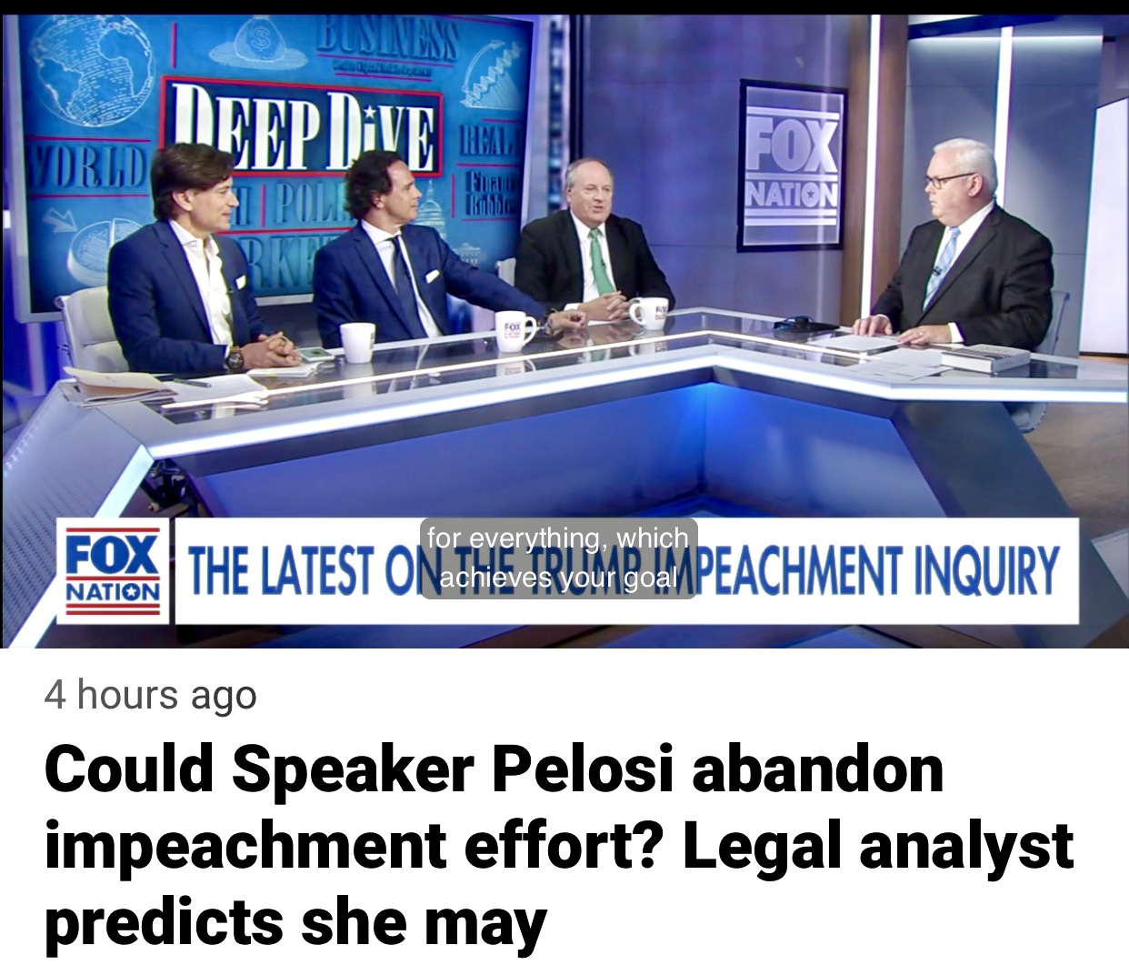 Video: Speaker Pelosi Should Abandon the Impeachment Hoax