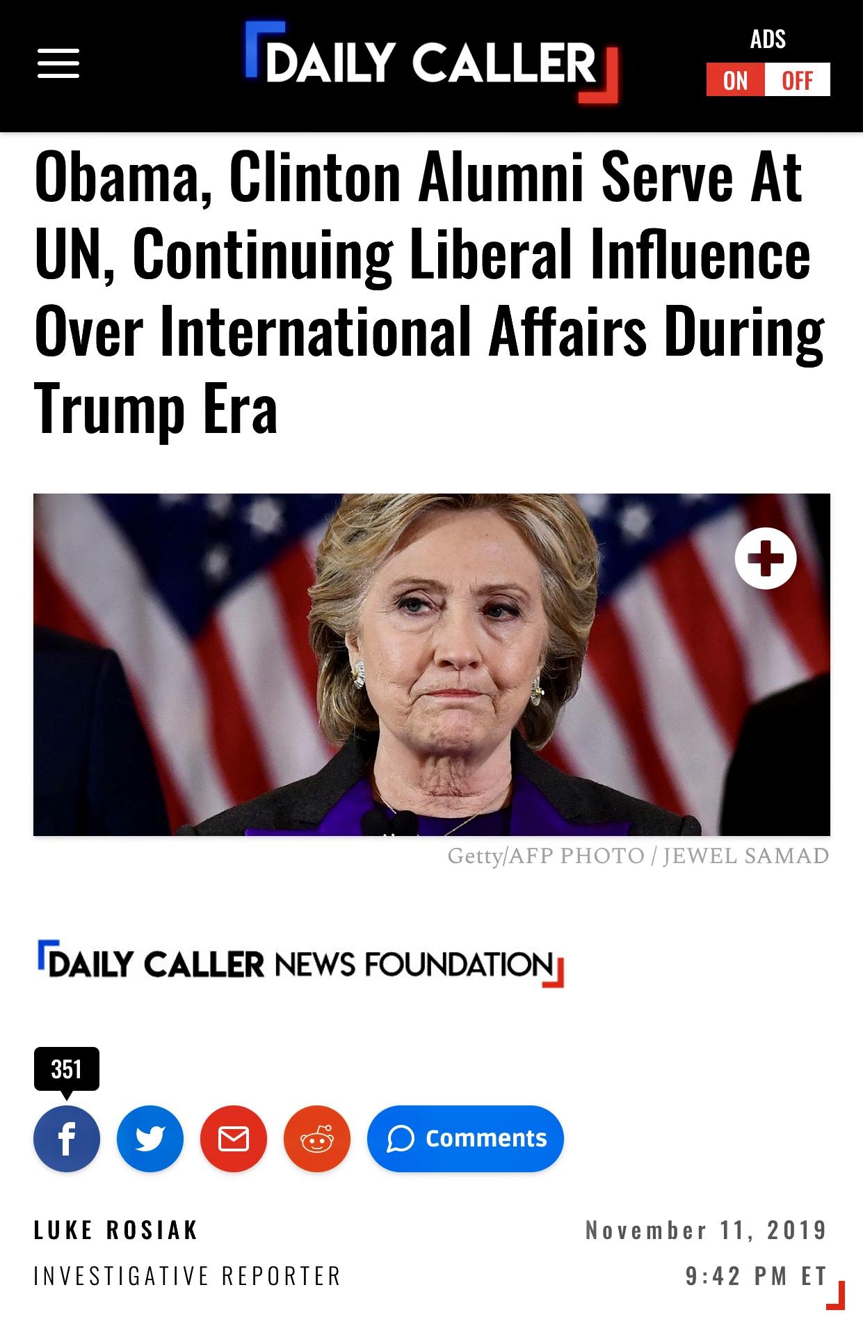 Obama, Clinton Alumni Serve At UN