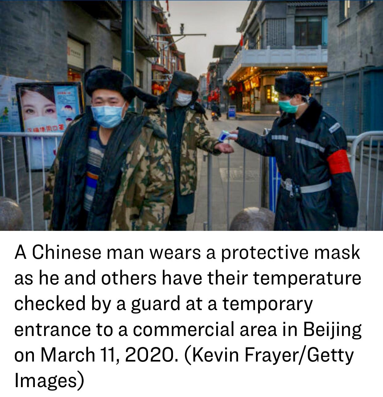 Experts Skeptical CCP Coronavirus  Epidemic Is Under Control