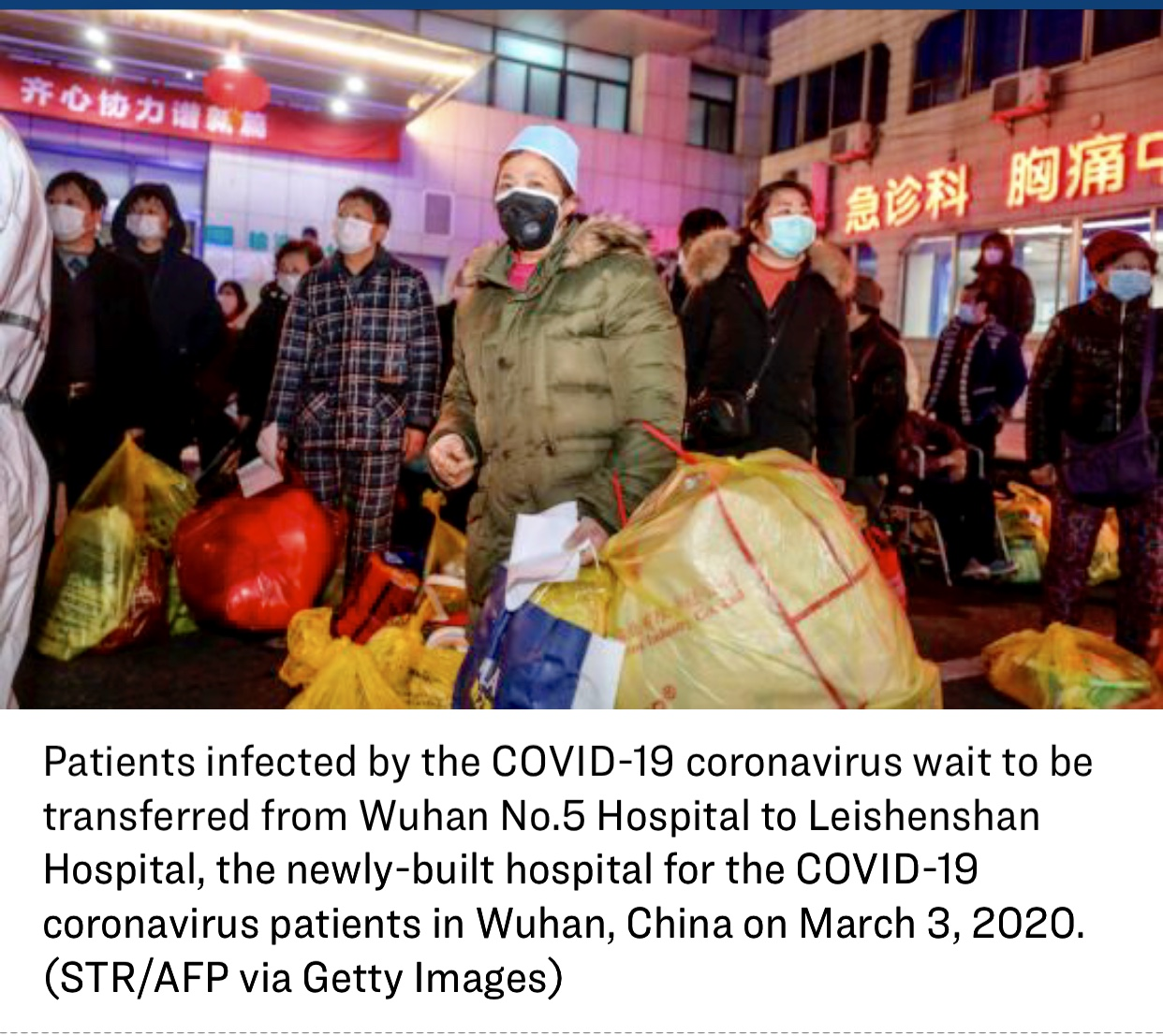 Discharged Chinese Coronavirus Patients Are Relapsing After Being Released from Hospitals