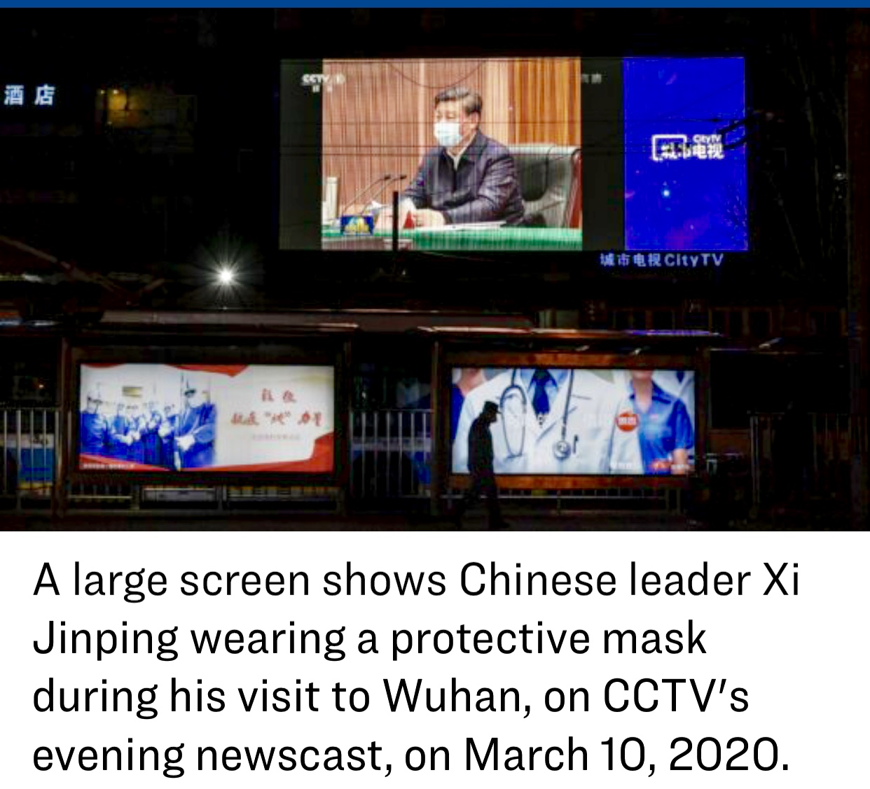 Chinese Regime Puts on Political Show With Xi's Trip to Coronavirus Epicenter Wuhan