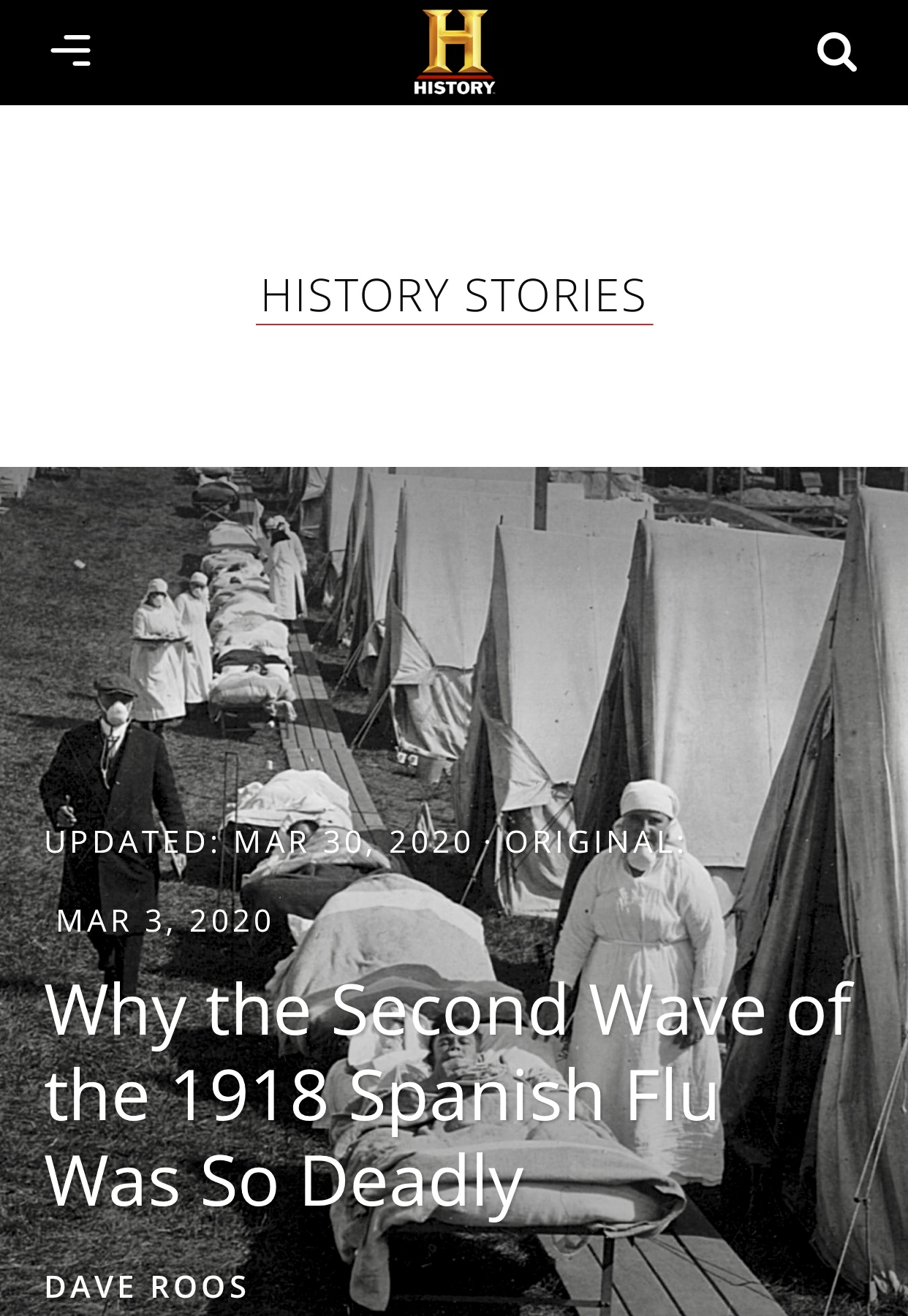 Why the Second Wave of the 1918 Spanish Flu Was So Deadly | HISTORY