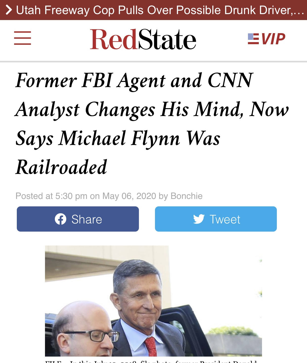 Former FBI Agent and CNN Analyst Said Michael Flynn Was Railroaded