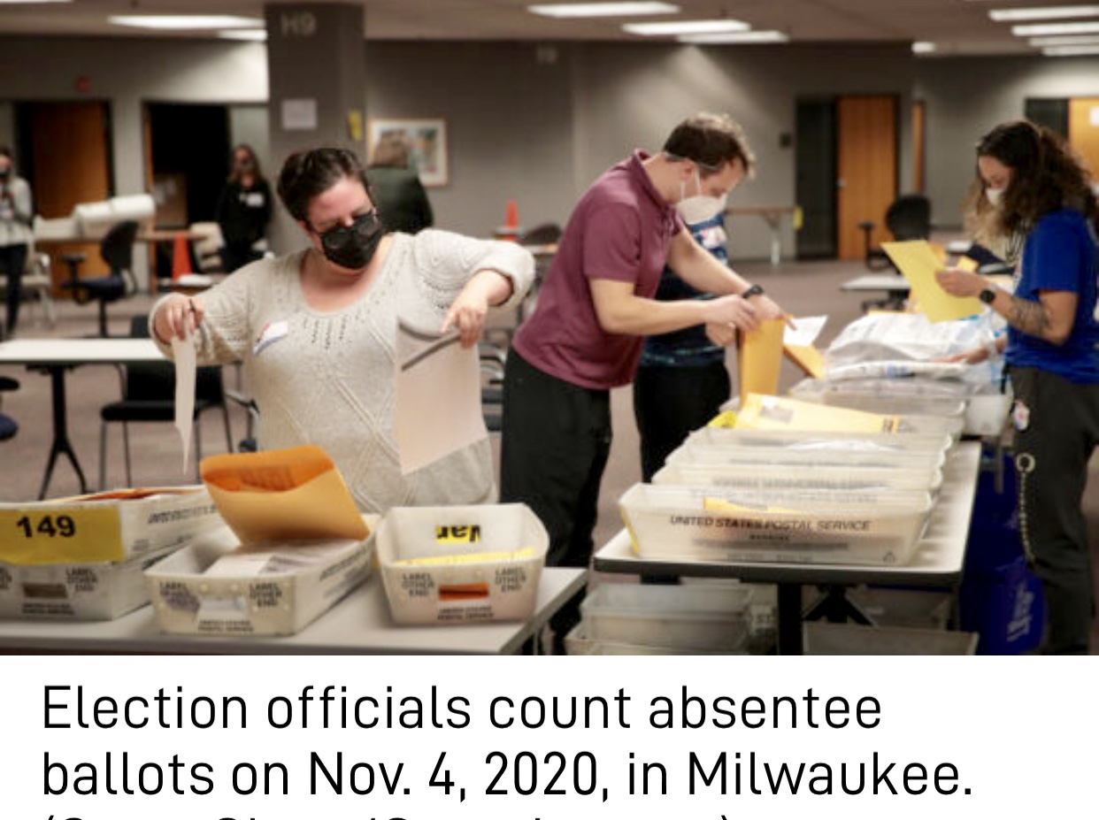 Wisconsin Elections Panel Guidance Led Clerks to Fill Out Witness Addresses, Contrary to State Law