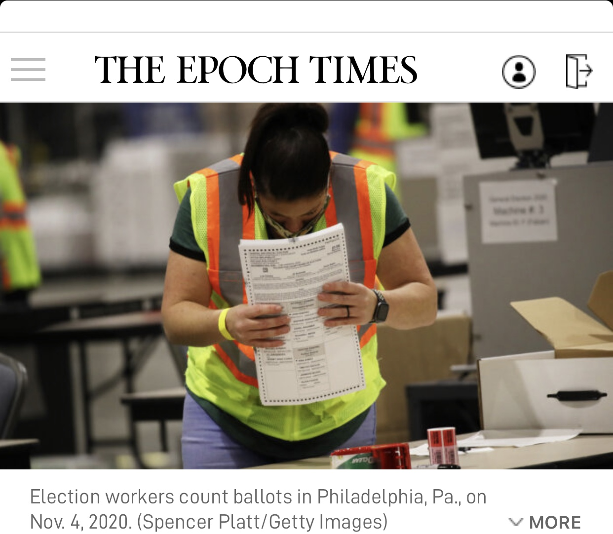 Trump Campaign Lawsuit Seeking to Block Pennsylvania Vote Certification Heads to Court