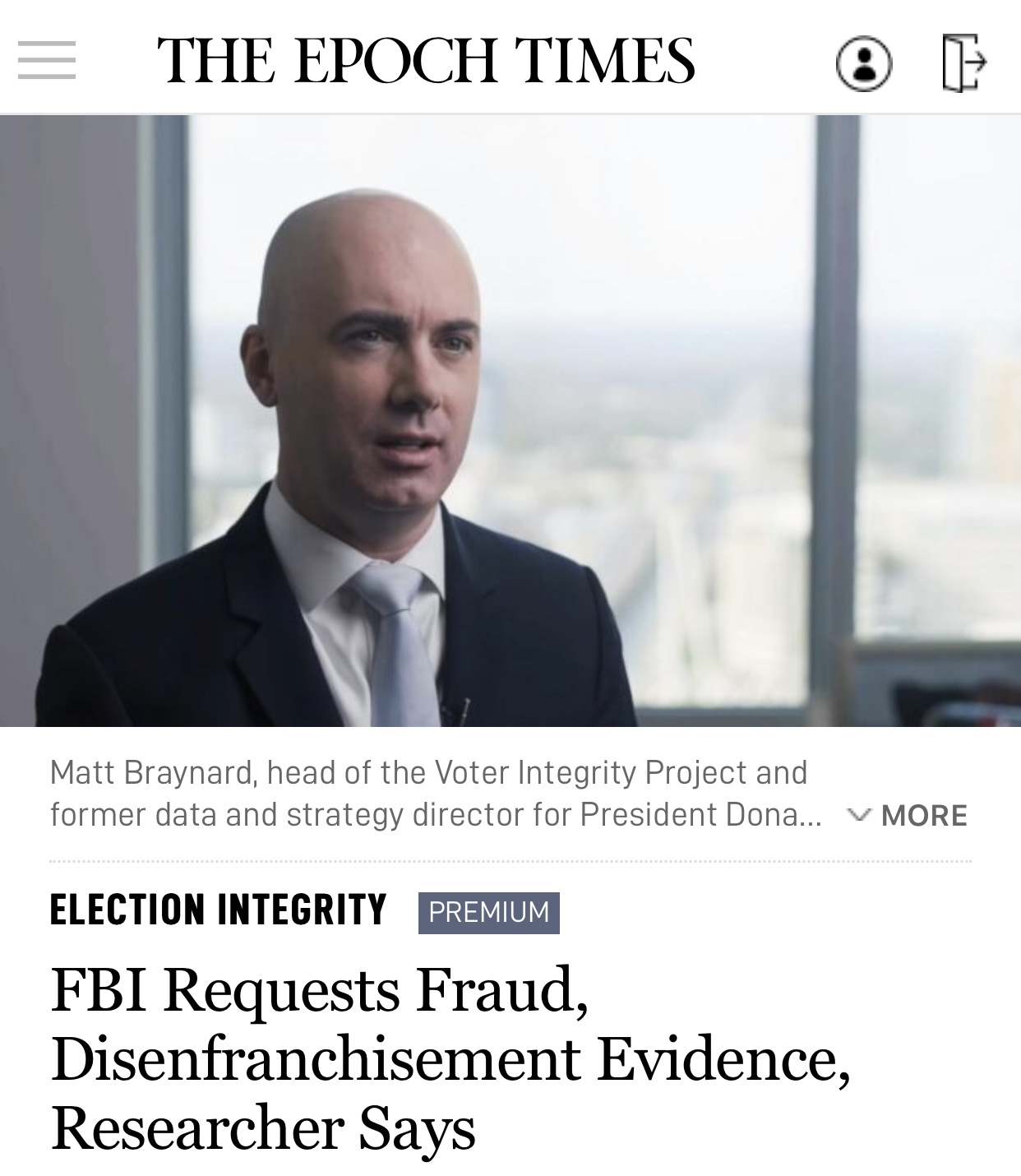 FBI Requests Fraud, Disenfranchisement Evidence, Researcher Says