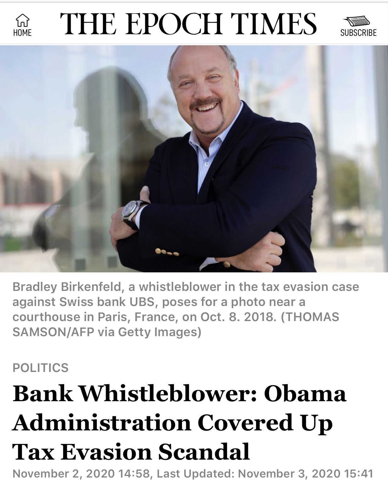 Bank Whistleblower: Obama Administration Covered Up Tax Evasion Scandal