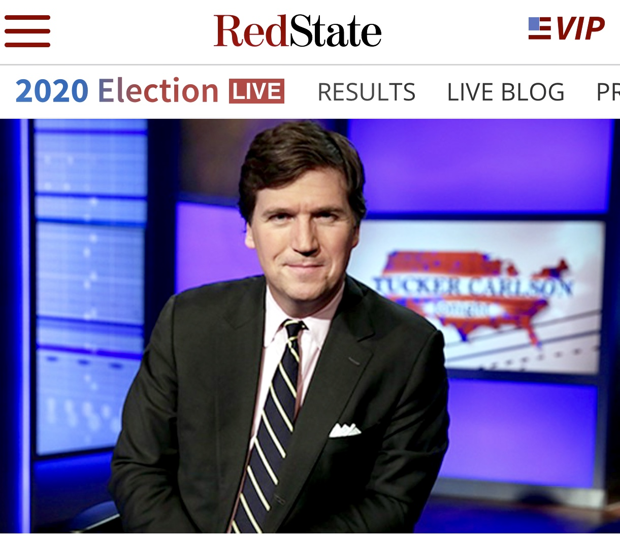 Civil War: Tucker Carlson Hits His Own Network in Epic Post-Election Monologue