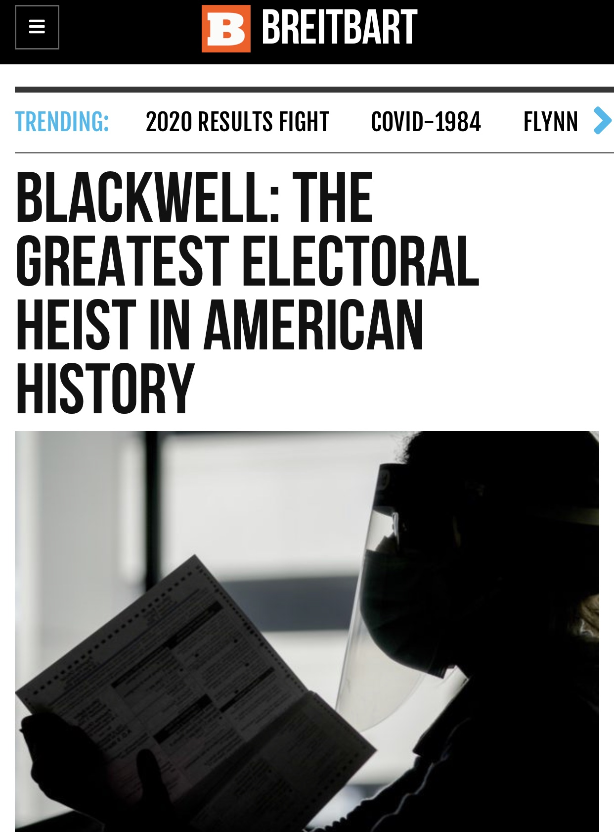Ken Blackwell: The Greatest Electoral Heist in American History