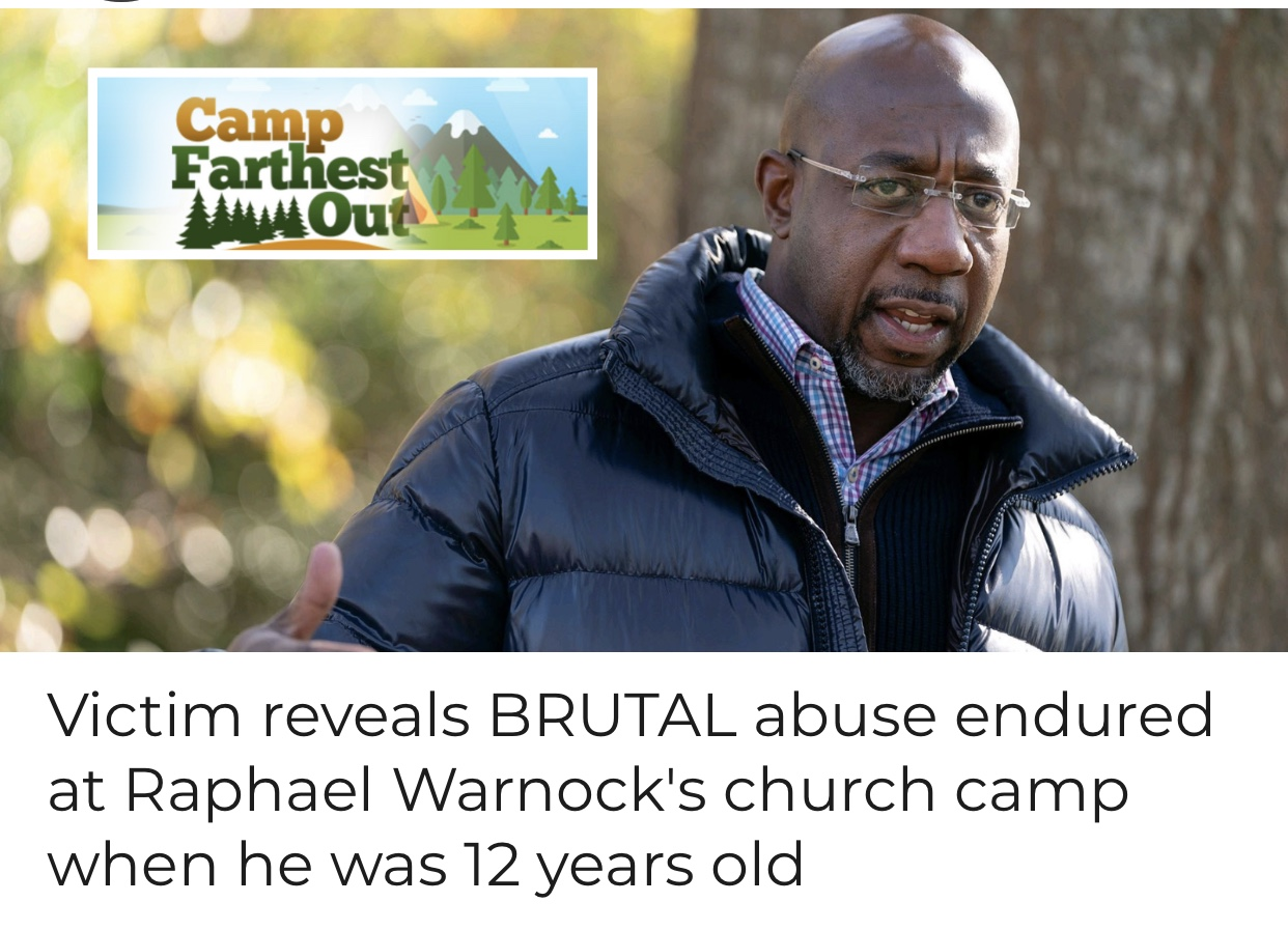 Breaking News Victim reveals BRUTAL abuse endured at Raphael Warnock's church camp when he was 12 years old