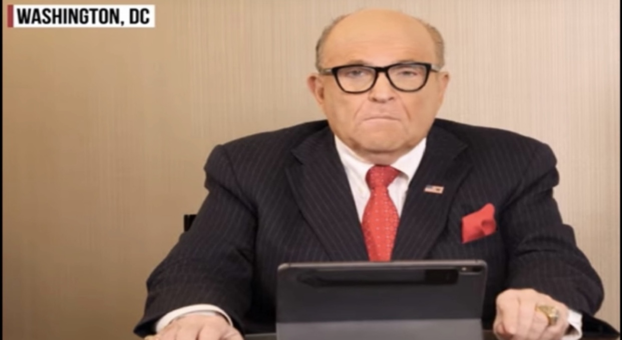 Rudy Giuliani Shuts Down Every Single Democrat And Troll In 6 Minutes
