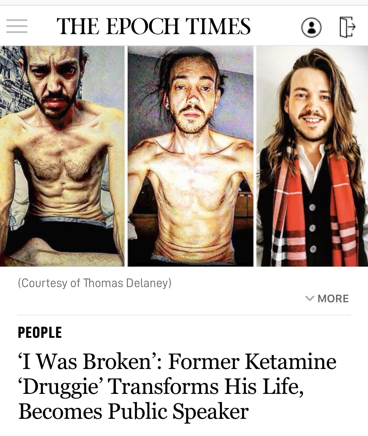 'I Was Broken': Former Ketamine 'Druggie' Transforms His Life, Becomes Public Speaker
