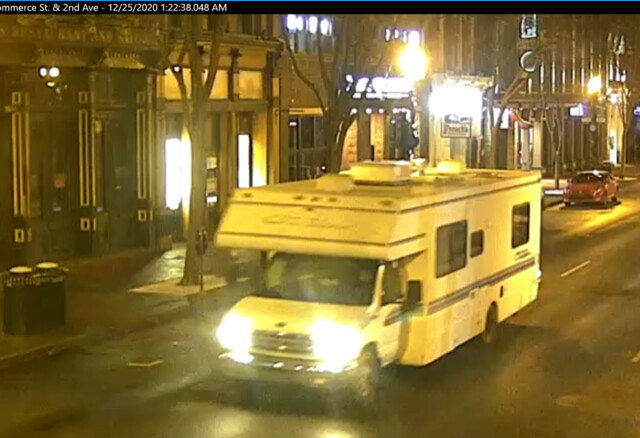 Christmas Evening Update on Nashville Bombing Picture of RV