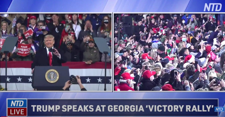 President Trump in GA for Senate Runoff Rally