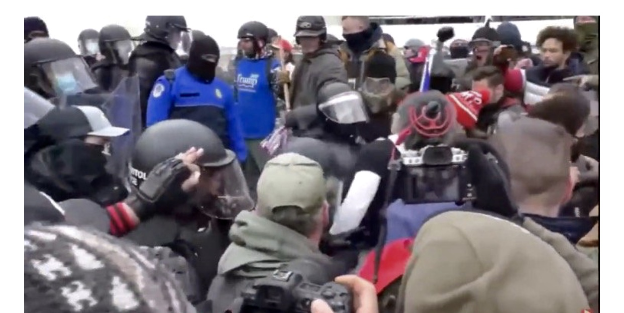 Watch Antifa Looting the Washington Capital